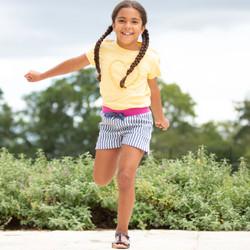 Kite Daisy Heart T-Shirt and Kite Ticking Shorts