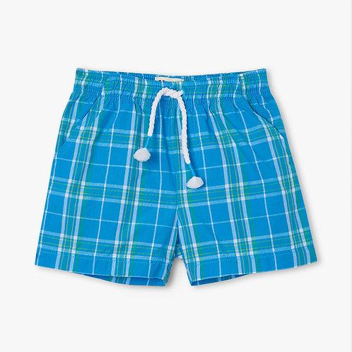 Hatley Summer Plaid Woven Shorts