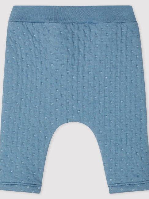 Petit Bateau Blue Baby Trousers
