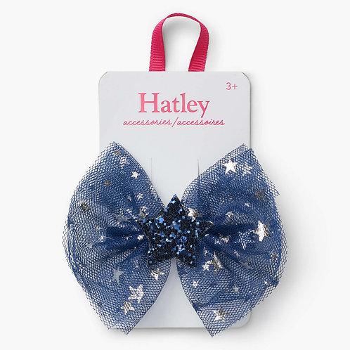 Hatley Midnight Sky Stars Hair Clip