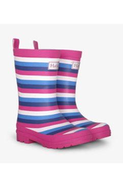 Hatley Summer Stripe Matte Welly Boots
