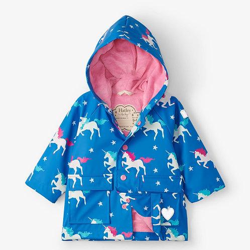Hatley Twinkle Unicorns Colour Changing Raincoats