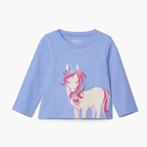 Hatley Magical Unicorn Long Sleeve Baby Tee