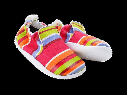 Bobux XP Scamp, Guava Stripe
