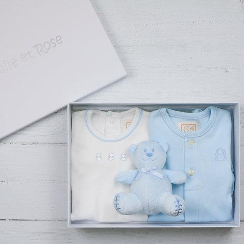 Emile et Rose Truman New Baby Gift Set, Blue