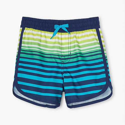 Hatley Cool Stripes Swim Shorts
