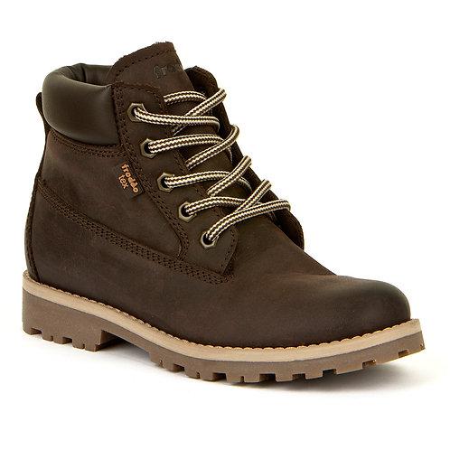 Froddo Dark Brown Lace-Up Boot, G3110155-4K