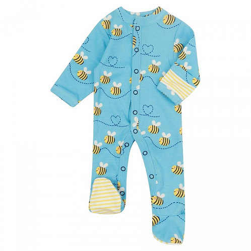 Piccalilly Bumblebee Sleepsuit