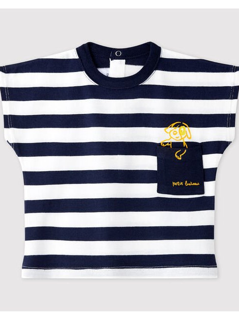 Petit Bateau Baby Boys' Short-Sleeved Jersey T-Shirt