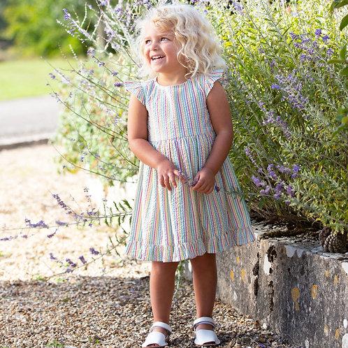 Kite Seersucker Frill Dress