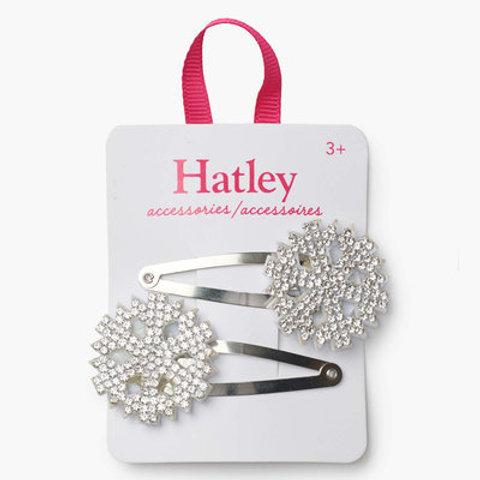 Hatley Festive Snowflakes Hair Clips