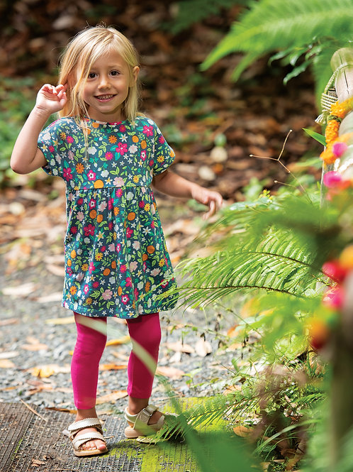 Frugi Olivia Outfit, Flower Valley