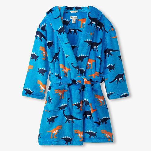 Hatley Sleepy Dinos Fleece Dressing Gown