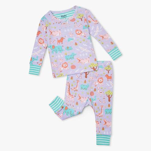 Hatley Safari at Dusk Organic Cotton Baby Pyjama Set