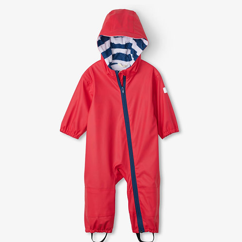 Hatley Red Terry Lined Baby Bundler