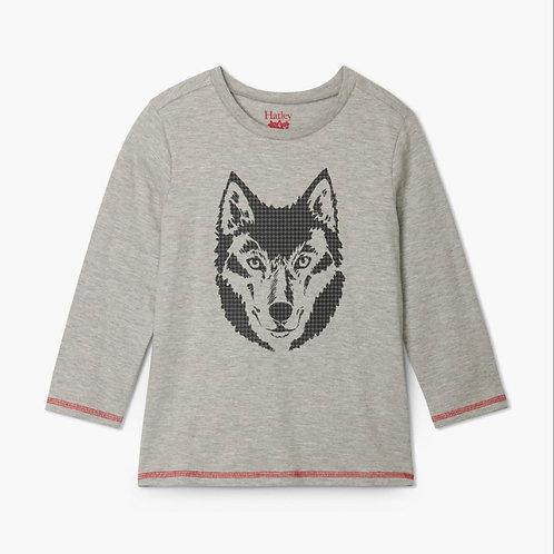 Hatley Wolf Long Sleeve T Shirt
