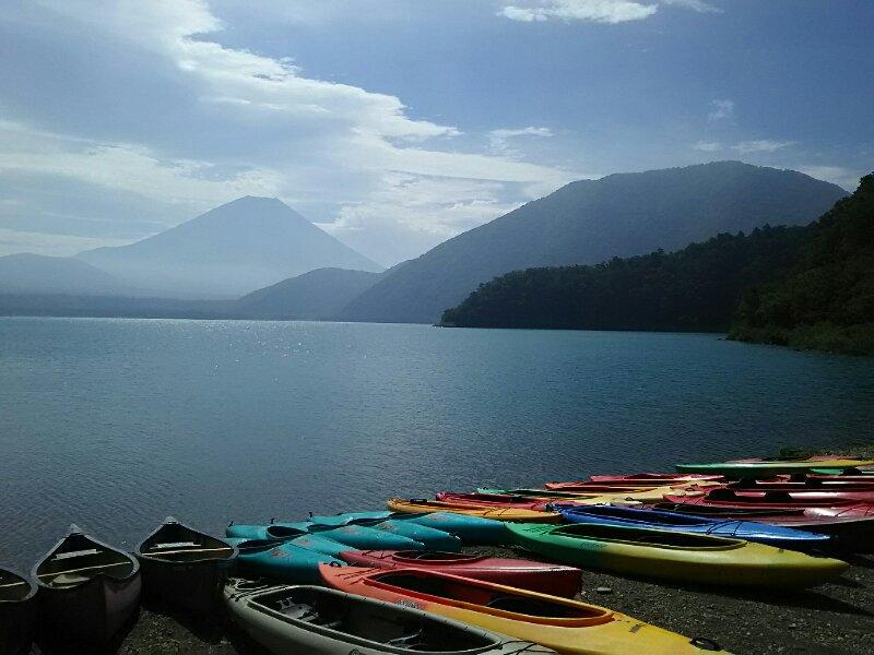 本栖湖カヤック体験