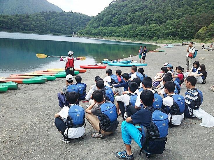 学生カヤック体験