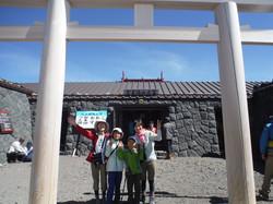 富士宮口山頂