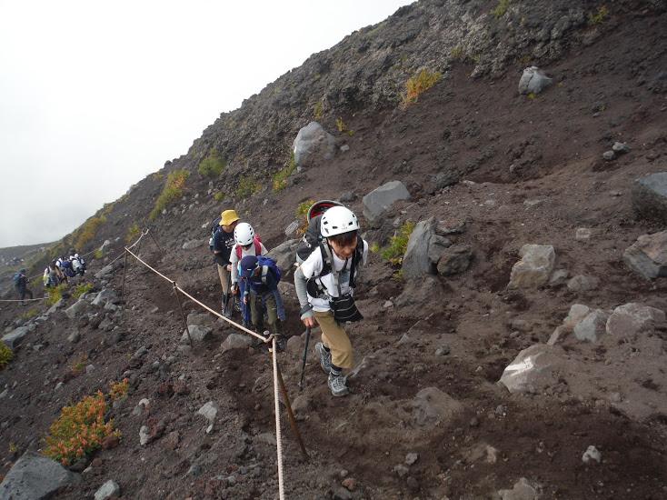 プライベート富士登山