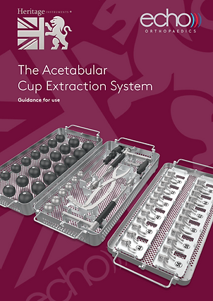 Acetabular cup extraction, uncemented cup extraction, orthopaedic revision