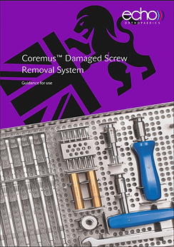 broken screw removal, universal screwdriver system, orthopaedic