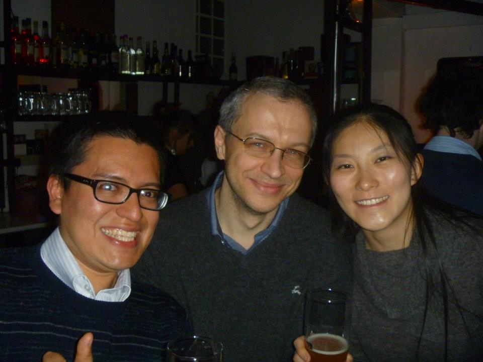 con Rong Shang y Kris Radacki
