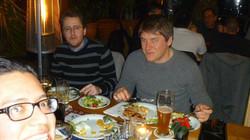 con RianDewhurst e Ivo Krummenacher