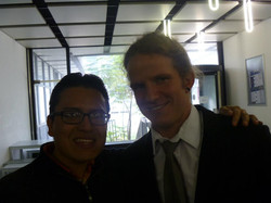 con Peter Brenner
