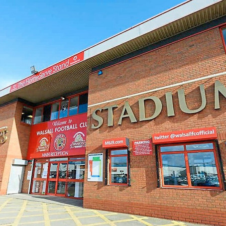 Walsall Football Club Supporters Working Party Meeting - October 2021