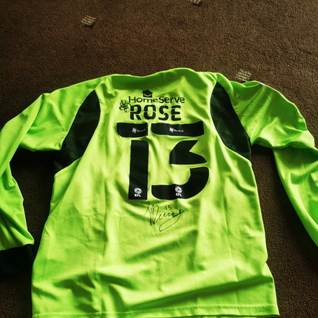 Win A Signed Jack Rose Signed Shirt