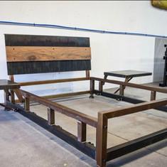 Steel bed frames