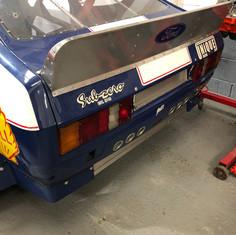 Ford Capri rear spoiler