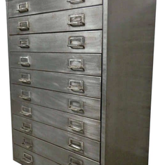 Steel chest of draws