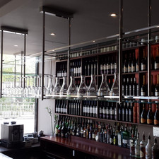 Made to measure over bar storage