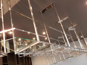 Hanging  Bar shelves