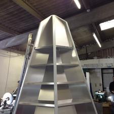 Aluminuim custom shelving