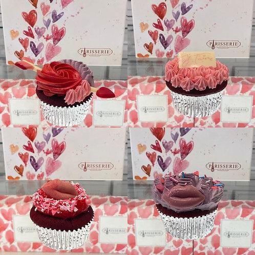 Valentine Cupcakes (4x)