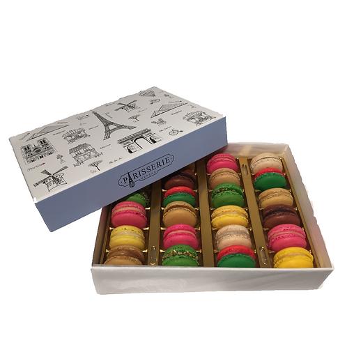 Macaron 24x box