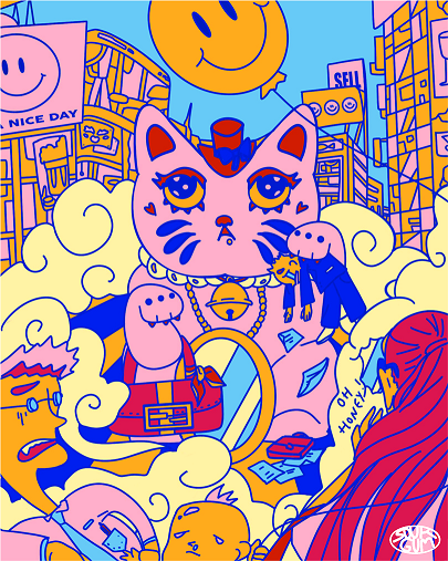 Flora Ginna Handoko - Lucky Cat