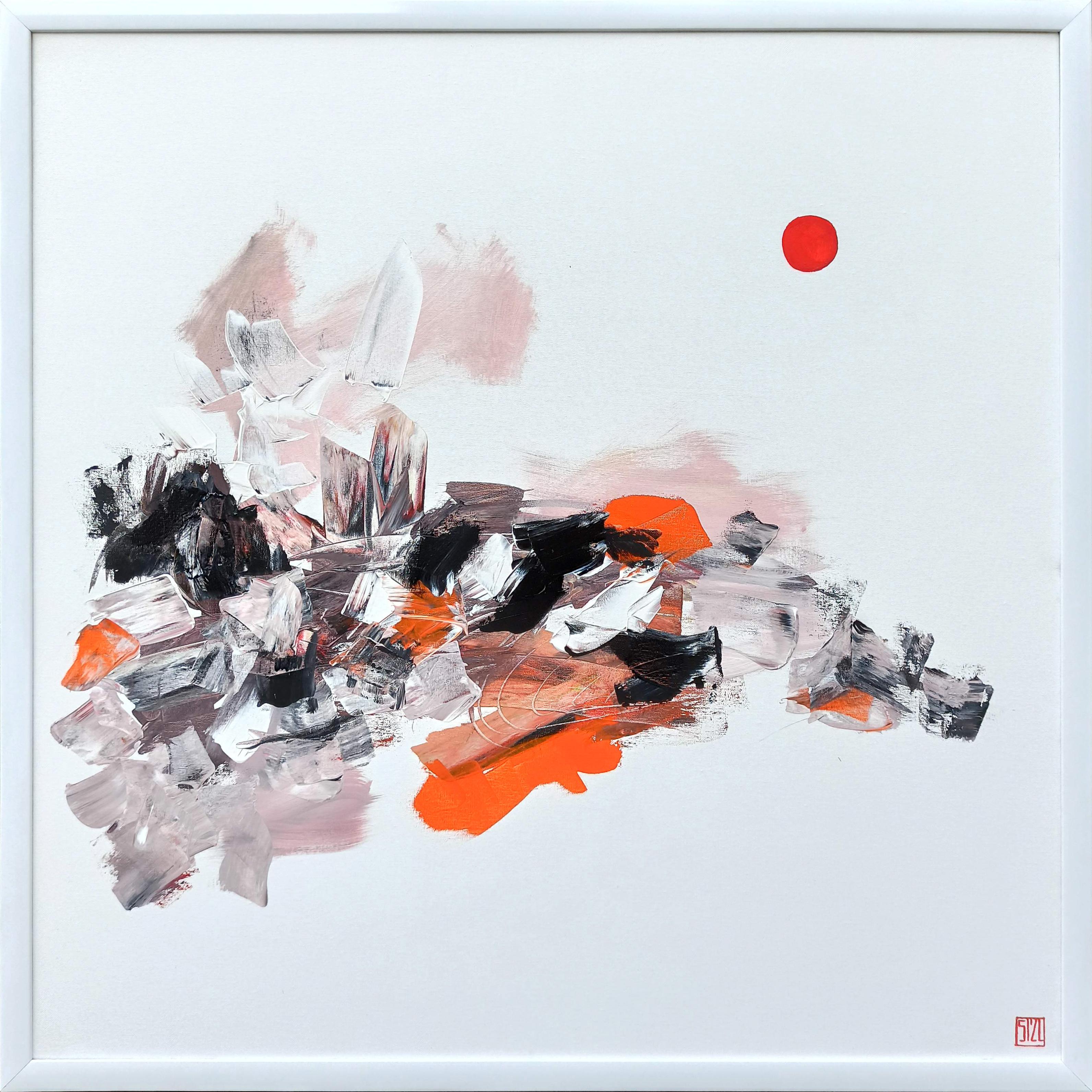 Damai dalam Kemakmuran_Acrylic on Canvas