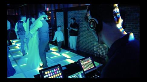 Margaux andNathan: Norem LED Dance Floor Highlight