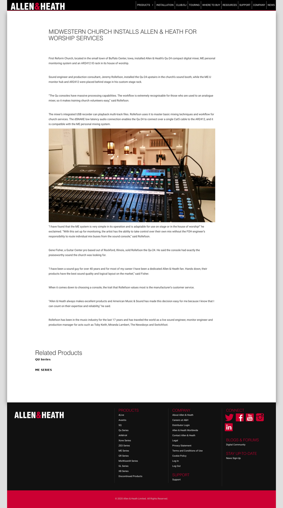 White Train Entertainment: QSC Press Release