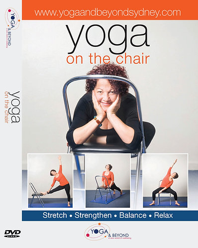 Yoga on The Chair DVD