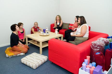 Group time at Yoga & Beyond