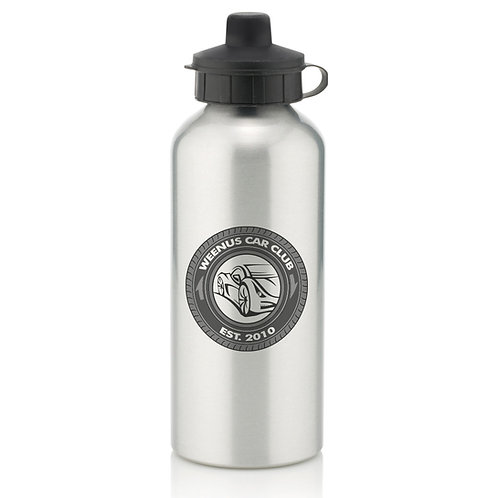 Weenus Car Club Aluminium Water Bottle