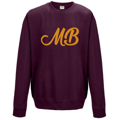 Monk Bretton CC Sweatshirt - Burgundy