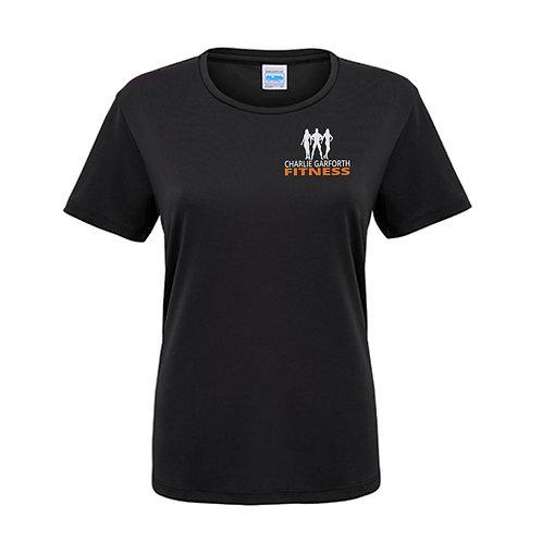 Charlie Garforth Fitness Ladies Cool T-shirt