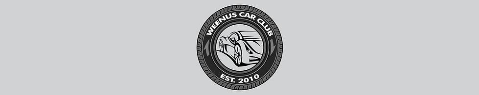 Weenus Car Club Merchandise