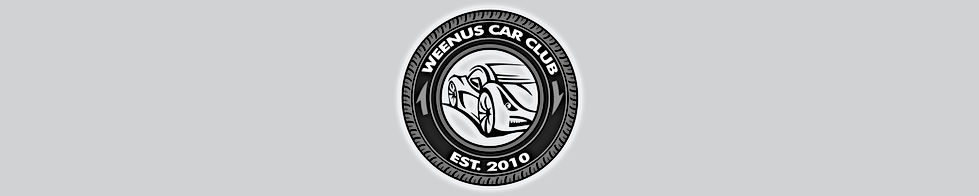 Weenus Car Club Merchandise